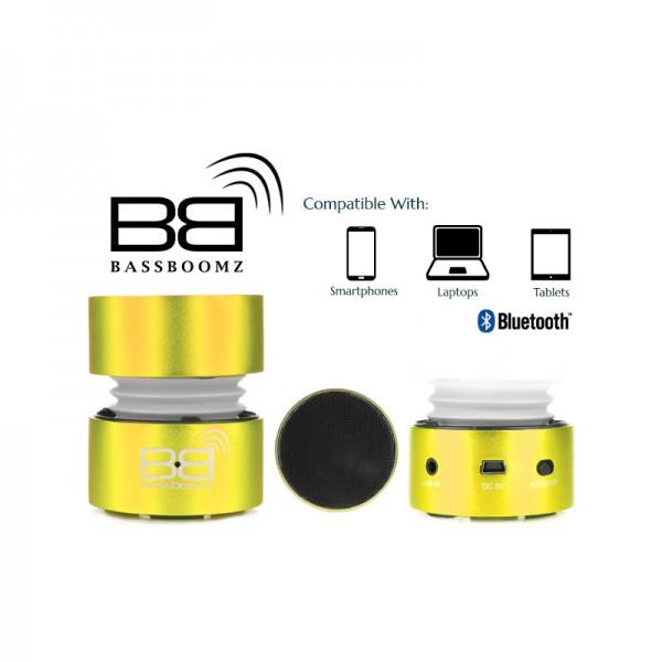 BassBoomz Gold - Bluetooth Lautsprecher
