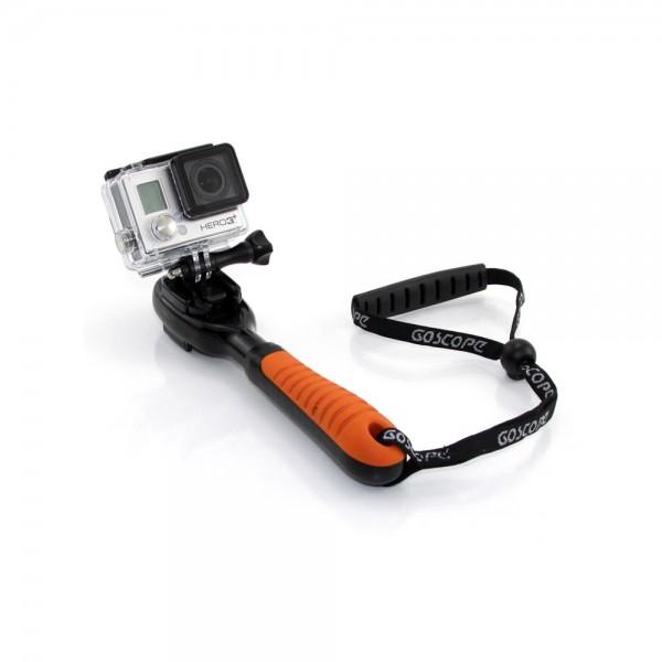 GoScope® Clutch – GoPro Hand Grip mit HERO3+ | camXpert.com