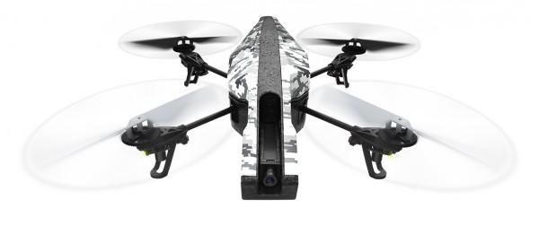 Parrot AR.Drone Elite Edition Snow - Outdoor Front | camXpert.com
