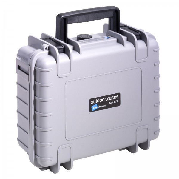 B&W Outdoor Case Typ 1000 - Grau