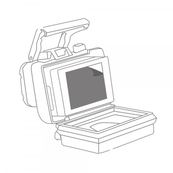 Gapder Anti Reflex LCD Touch Folie
