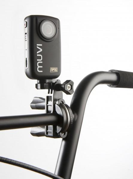 VEHO VCC-A017-UPM - MUVI™ am Lenker montiert | camXpert.com