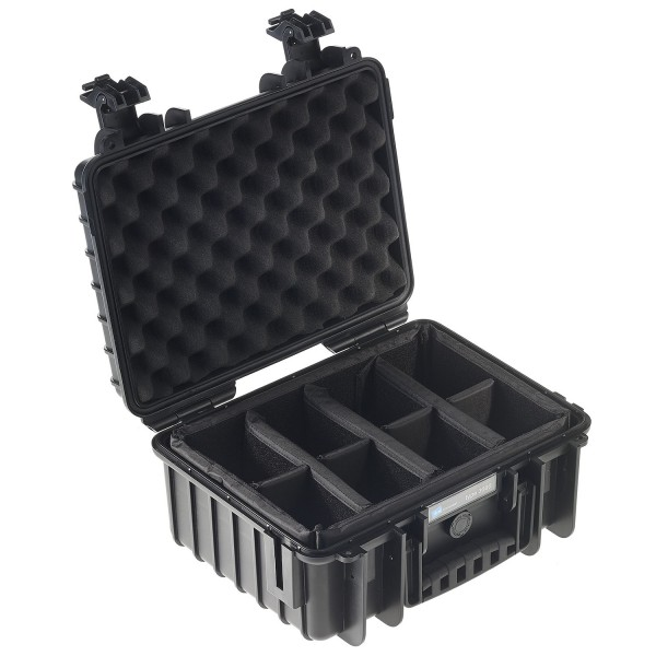 B&W Outdoor Case Typ 3000 RPD - Schwarz   camXpert.com