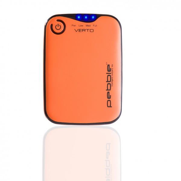 VEHO PEBBLE™ Verto Portable Charger 3700mAh - orange | camXpert.com