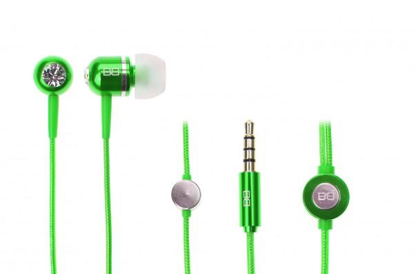 BassBuds Classic Collection Green | camXpert.com
