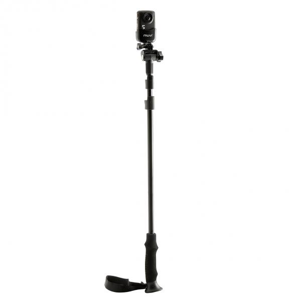 VEHO MUVI™ Extra-Long Extendable Monopod mit MUVI™ Cam | camXpert.com