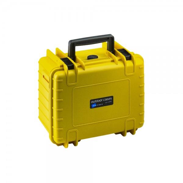 B&W Outdoor Case Typ 2000 SI - Gelb | camXpert.com