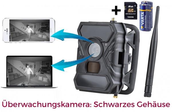 ICUserver 3G Überwachungskamera mit SIM Karte GPRS GSM und 8GB SD Karte