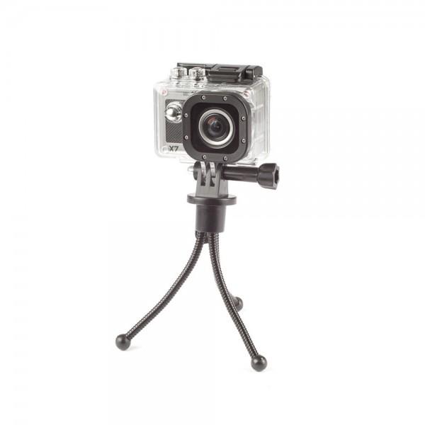 Actionpro X7 Mini Stativ mit Actioncam | camXpert.com