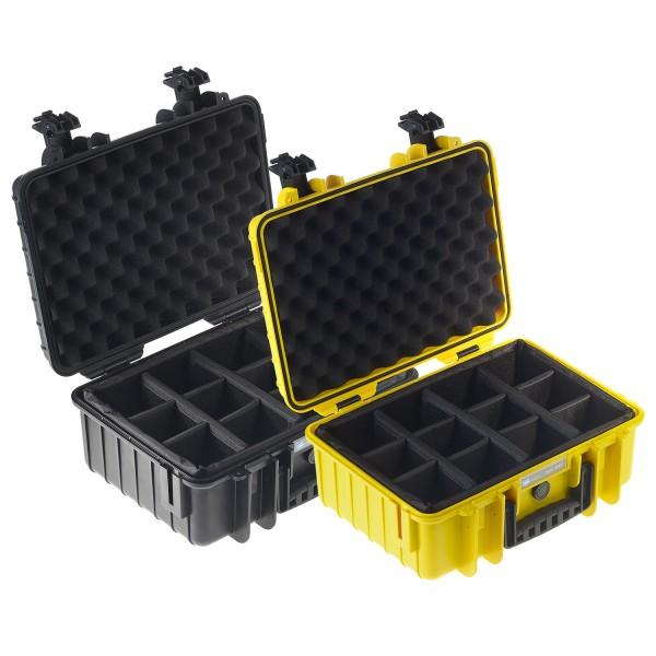 B&W Outdoor Case Typ 4000 RPD - Farben