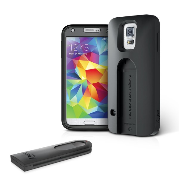 iLuv Selfy für Samsung Galaxy S5 Schwarz | camXpert.com