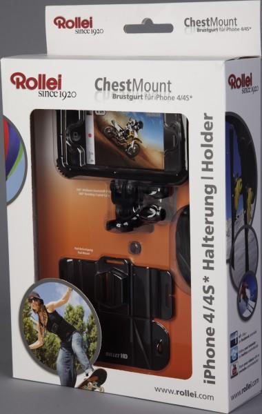 Rollei Chest Mount für iPhone - Verpackung | camXpert.com