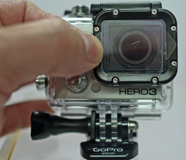 S+M Rehberg lensCOVER mit GoPro HERO3 | camXpert.com