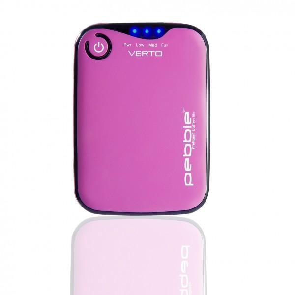 VEHO PEBBLE™ Verto Portable Charger 3700mAh - pink | camXpert.com