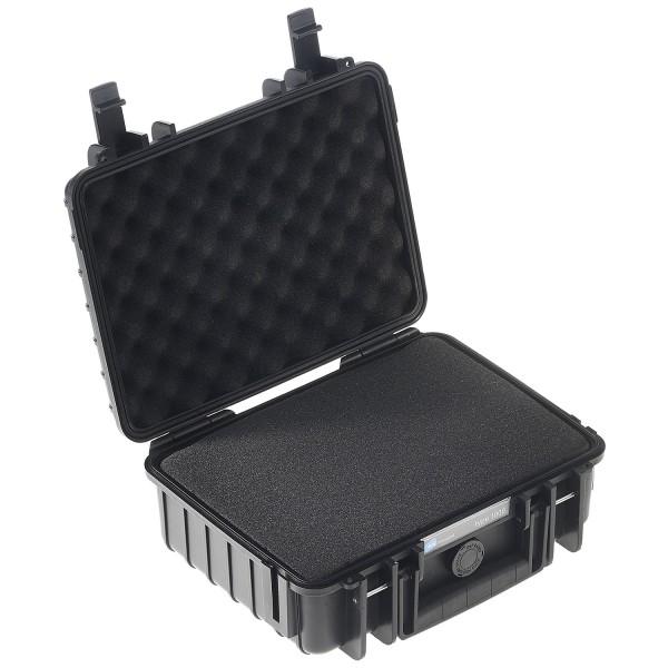 B&W Outdoor Case Typ 1000 SI - Schwarz | camXpert.com