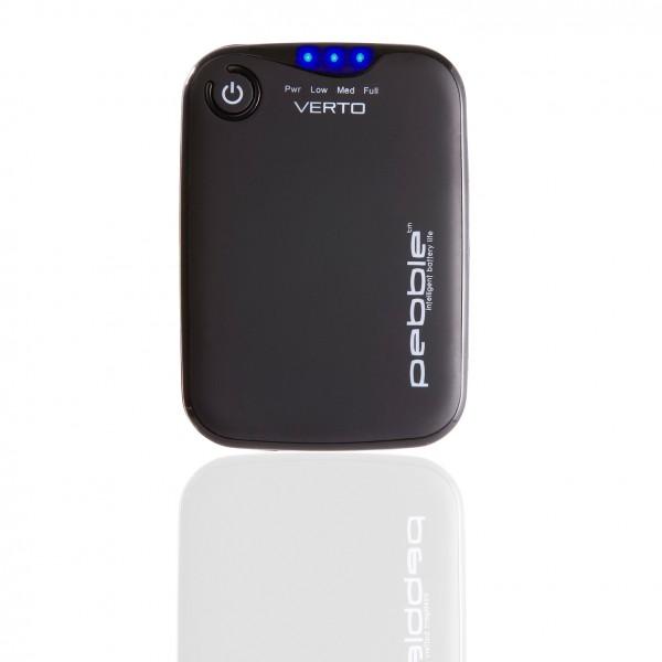 VEHO PEBBLE™ Verto Portable Charger - schwarz | camXpert.com