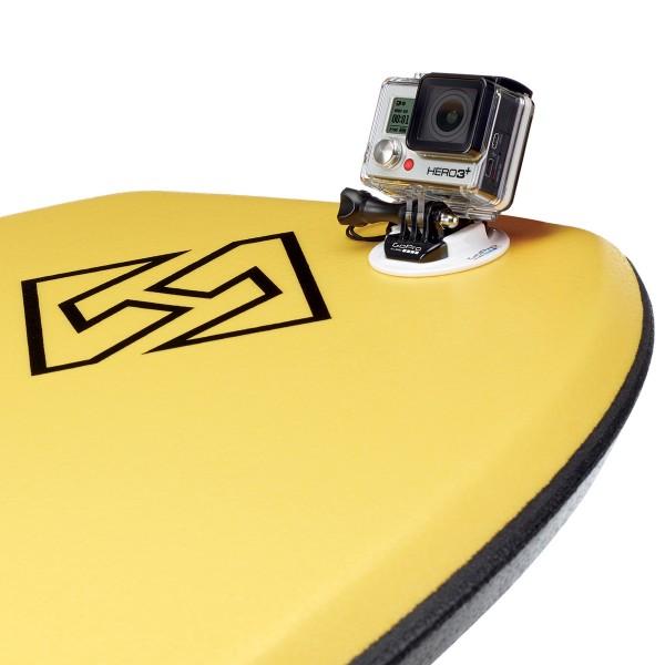 GoPro Bodyboard Mount mit HERO3+ und Surfboard | camXpert.com