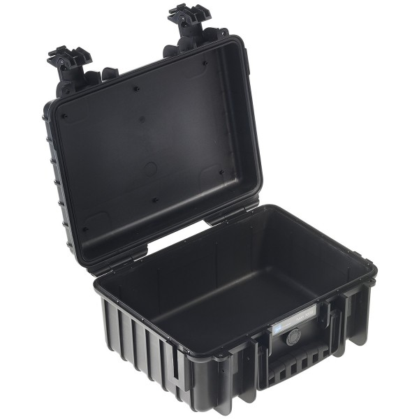 B&W Outdoor Case Typ 3000 Schwarz - offen | camXpert.com
