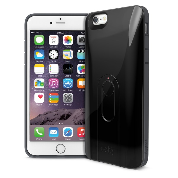 iLuv Selfy für iPhone 6 Plus Schwarz | camXpert.com