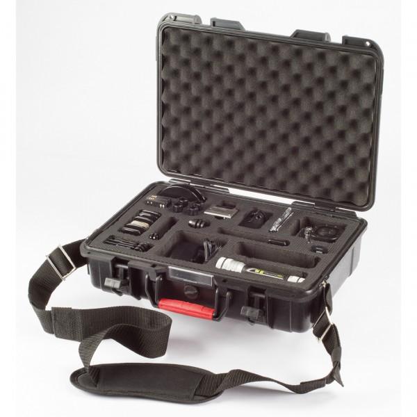 Actionpro Case für zwei Kameras mit Zubehör
