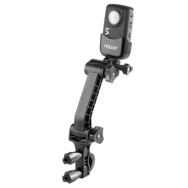 VEHO MUVI™ Extended Pole/Bar Mount mit MUVI™ Cam | camXpert.com