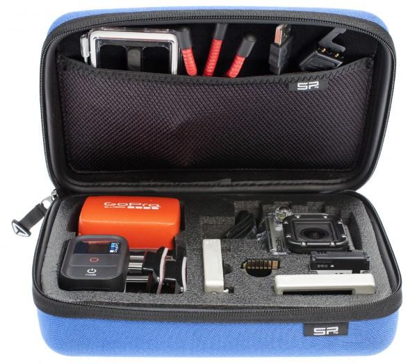 SP Cases GoPro-Edition 3.0, S,blau - Frontansicht | camXpert.com