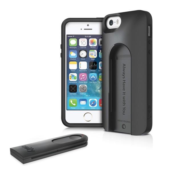 iLuv Selfy für iPhone 5/5S Schwarz | camXpert.com