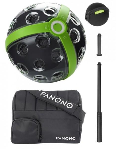 Panono 360 Grad Panorama Kamera Standard Set im Messenger Bag